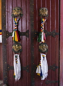 The Norbulingka Palace was the summer palace of the Dalai Lama from about 1755 until 1959.  It is part of the Historic Ensemble of the Potala Palace, Lhasa - a UNESCO World Heritage Site.  Lhasa, Tibe...