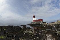 England, Northumberland, Farne Island, Longstone Lighthouse.