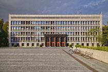 Slovenia, Ljubljana, Slovenian Parliament Building.