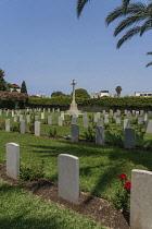 Israel, Haifa, British War Cemetery, The British War Cemetery, contains the graves of British soldiers killed in Palestine in both World War I and World War II.