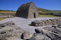 Ireland, County Kerry, Dingle Peninsula, Gallarus Oratory.