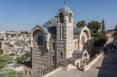 Israel, Jerusalem, St. Peter Gallicantu, The Church of Saint Peter in Gallicantu is a Roman Catholic church built on the traditional location of the palace of Caiaphas, the high priest, on the eastern...