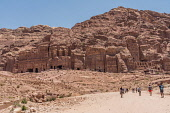 Jordan, Petra, The Royal Tombs in the ruins of the Nabataean city of Petra in the Petra Archeological Park is a Jordanian National Park and a UNESCO World Heritage Site.