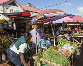 Guyana, Demerara-Mahaica Region, Georgetown, The Stabroek Market was officially chartered in 1842, but a market had existed in that location much earlier.  It is a busy hub of life in the city.