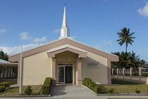 Guyana, Demerara-Mahaica Region, Georgetown, This modern chapel belongs to The Church of Jesus Christ of Latter-day Saints,  often referred to as the Mormon church.