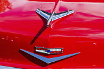 USA, Utah, Moab, A restored and modified 1956 Chevrolet 210 2-door sedan Moab April Action Car Show.