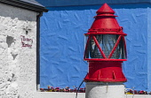 Republic of Ireland, County Sligo, Rosses Point, Old Red Harbout Light.