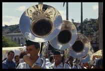 Brazil, Minas Gerais , Brass Band