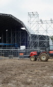 Entertainment, Festivals, Music, Wickham Festival, ground in front of stage badly damaged due to traffic and revelers.